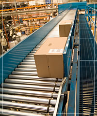 Whitaker Transmissions - Gravity Roller Conveyor